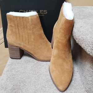 New Suede booties